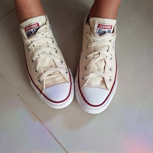 a34ac4e50165 Converse Shoes - Converse all star natural white sz 6